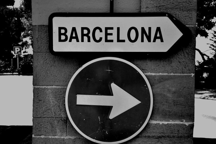 Qual è la strada per Barcellona?